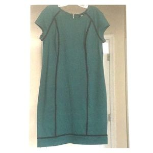 Green & Black ponte Mossimo dress